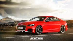 2018 audi rs5 coupe accurately rendered using new s5 and tt rs