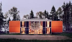 industrial zombie shipping container architecture