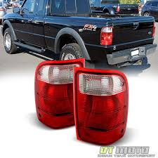 2001 silverado tail lights 2001 2011 ford ranger red clear tail lights replacement ls 01 11