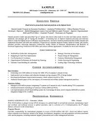 Key Competencies Resume U0026 Airline Executive Resume