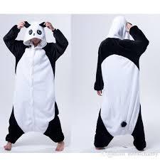kongfu panda animal onesies pajamas onesies costume pyjamas