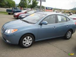 hyundai elantra baby blue 2007 seattle light blue hyundai elantra gls sedan 4364778