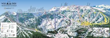 Mt Hood Trail Map Wolf Creek Colorado Ski North America U0027s Top 100 Resorts Project