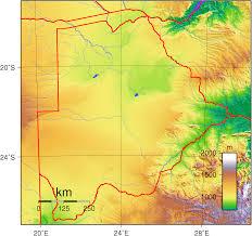 Botswana Flag Liportal Botswana Landesübersicht U0026 Naturraum Das