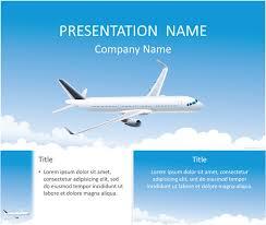 aircraft powerpoint template powerpoint pinterest