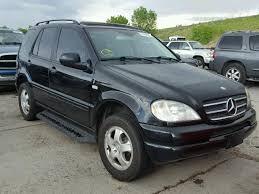 2000 mercedes m class ml430 auto auction ended on vin 4jgab72e3ya168815 2000 mercedes