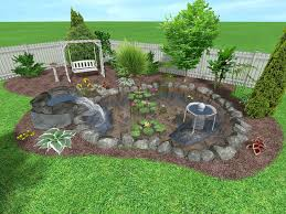 exteriors small fish pond party decorations garden water with frog