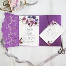 purple and gold wedding invitations purple wedding invitations by wedding invites