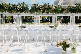 wedding hire how to plan a marquee wedding reception with events in tents