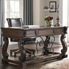 Buy Online Direct Alymere Home Office Desk And Chair Buy - Ashley home office furniture