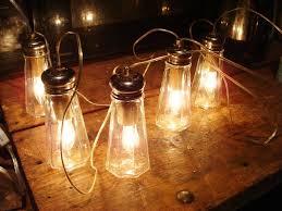 decoration unique led jar solar light hanging l