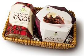 scotch gift basket scottish haggis and clootie gift basket the haggis stahly