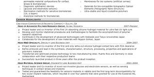resume senior project manager resume awesome program manager