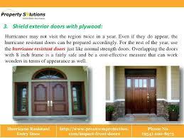 Hurricane Exterior Doors Hurricane Front Doors Hurricane Resistant Entry Door Lowes