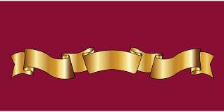 gold ribbon free vector graphic gold ribbon ribbon heraldry free image on