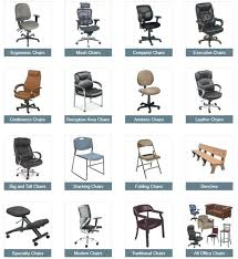 Officechairs Design Ideas Chair Types And Names Amazing Office Chairs Home Exterior Interior