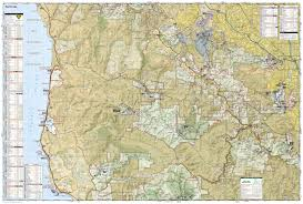 Hillsborough County Zip Code Map skyline boulevard national geographic trails illustrated map