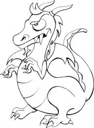 dragon coloring pages kids preschool coloring book pages