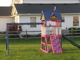 Small Backyard Swing Sets by 51 Best Images About Swingset On Pinterest