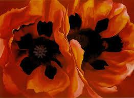 oriental poppies 1928 by georgia o u0027keeffe