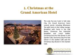 Grand America Breakfast Buffet by 8 Things To Do For The Holidays In Nearby Salt Lake City When Visitin U2026