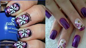 nail art nail art flowers tutorial corset and it fearsome image