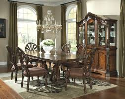 cheap dining room set with china cabinet used table black sets