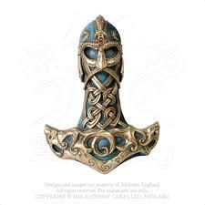 thor u0027s hammer wall plaque alchemy gothic viking thunder hammer