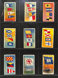 Flags Of All Nations Lot Detail Lot Of 187 1910 T59 Flags Of All Nations Almost