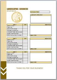 Landscaping Invoice Template by Landscaping Invoice Template 7 Landscaping Invoice Templates