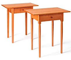 shaker end table plans two classic shaker tables printed plan accent tables pinterest