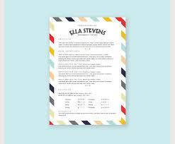 stylish ideas cute resume templates nice inspiration cool creative