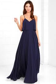 navy maxi dress stunning navy blue dress maxi dress gown 78 00