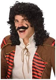 halloween costumes wigs captain hook costume wig halloween costumes