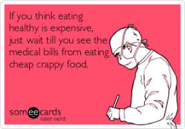 Eating Healthy Meme - how to eat healthy on a budget aquaspin
