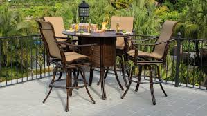 bar height patio table plans sling bar height patio furniture patiosusa intended for awesome