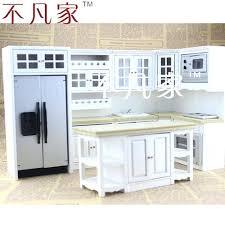 furniture kitchen set miniature kitchen set stove real working for dollhouse