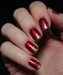 digit al dozen does red gold green day 3 glitter gradient red