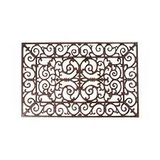 Cast Iron Doormat Cast Iron Doormat Classicaly Styled Large Rectangular Order