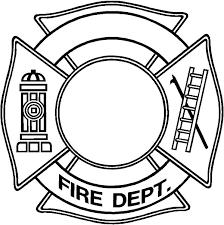 fire department maltese cross coloring coloring