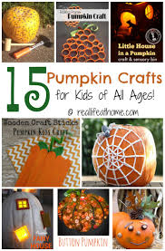 15 pumpkin crafts for kids of all ages art supplies real life