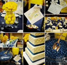 inspirations for blue and yellow wedding colors gurmanizer