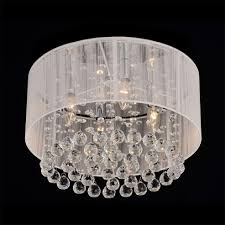 Crystal Flush Mount Lighting Flush Mount Ceiling Chandelier Diy Inspiration Possibly