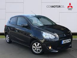 mitsubishi mirage second hand mitsubishi mirage 1 2 3 5dr cvt zero road tax front