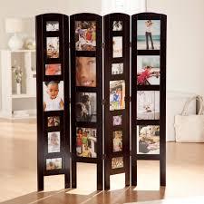 memories photo frame room divider rosewood 4 panel hayneedle