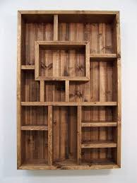 wood ideas stunning idea wood display shelves charming design best 25 ideas