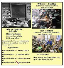 Cluttered Desk Albert Einstein Einstein U0027s Messy Office Vancleave U0027s Science Fun