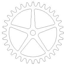7 Free Wooden Gear Clock Plans by Wood Gear Template Assignment 1 Make A Spirograph Wooden Gear