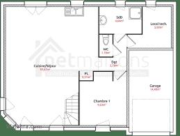 plan maison rdc 3 chambres unique plan maison rdc 3 chambres wajahra com