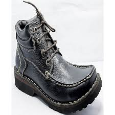 buy boots pakistan buy roots black leather boots for at best price in